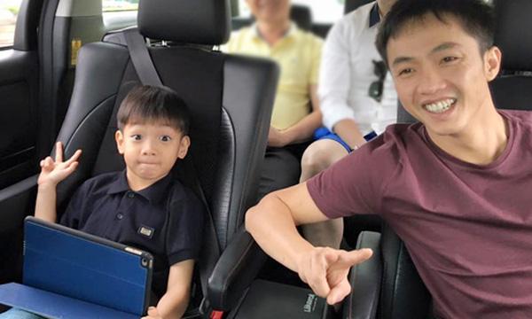 Subeo được bố đưa đi du lịch Malaysia vào đầu năm 2016.