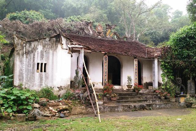 Đền thờ Trịnh Khả tại Thanh Hóa đang bị xuống cấp.