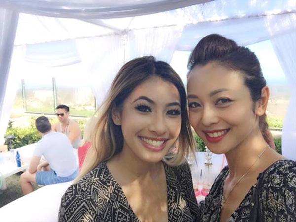 Jacqueline Phạm sở hữu ngoại hình lai Tây xinh đẹp và quyến rũ, thậm chí còn có phần nóng bỏng và hấp dẫn hơn chị gái.