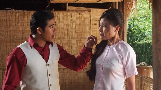 Tuấn và Nhị Hà yêu nhau nhưng bị Huân ngăn cản. Ông xã Ngọc Lan tiếp tục thể hiện vai phản diện trong phim. Ảnh: Nghiệp Lý