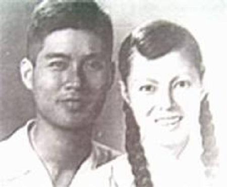 Nhạc sĩ Nguyễn Văn Tý và vợ - nghệ sĩ Bạch Lê.