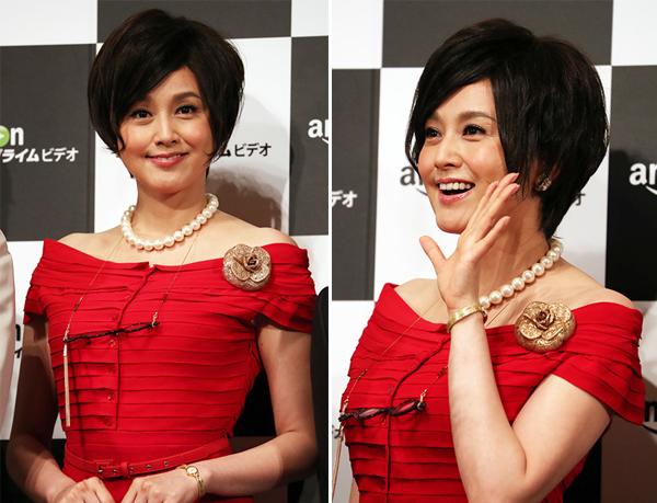 Norikia Fujiwara vẫn rất đẹp ở tuổi 44. Cô tiết lộ đã kết hôn với tài tử Ainosuke Kataoka.