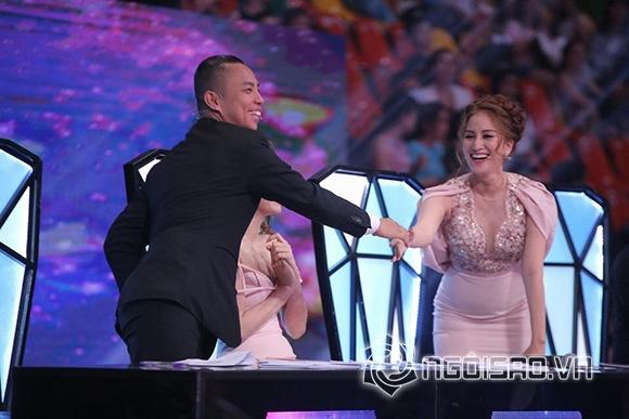 Khánh Thi: Phan Hiển còn thân với Chí Anh hơn tôi.