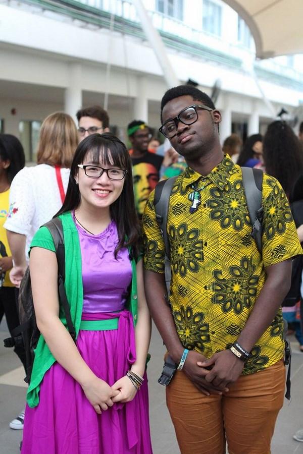 Nhận học bổng toàn phần chương trình Tú tài quốc tế tại trường Thế giới liên kết Đông Nam Á (UWCSEA), Singapore, cô gái Việt có những trải nghiệm đa văn hóa để trưởng thành.