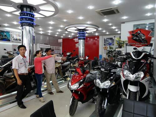 Thị trường xe máy suy giảm, nhưng giá sẽ tăng mạnh.