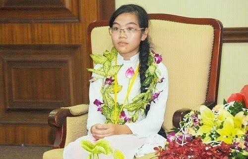 Hương Thảo trong buổi trở về sau cuộc thi năm 2015. Ảnh: Thanh Hùng