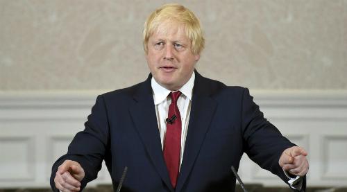 Cựu thị trưởng London Boris Johnson. Ảnh: Reuters
