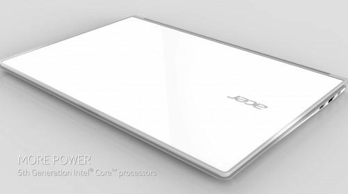 Bên ngoài Acer Aspire S7.