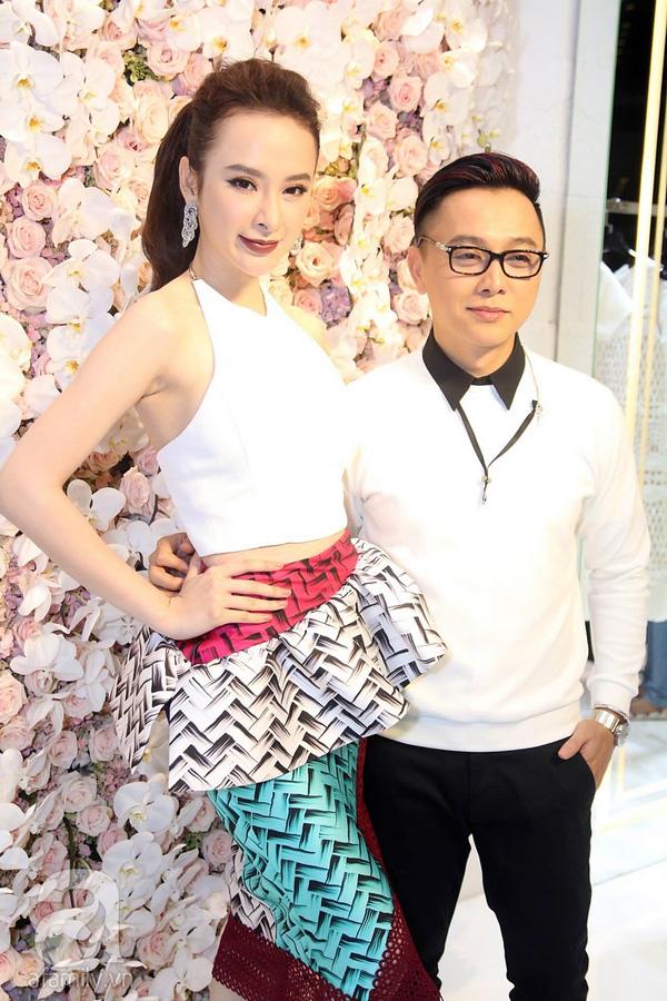 Angela Phương Trinh và nhà thiết kế Công Trí.