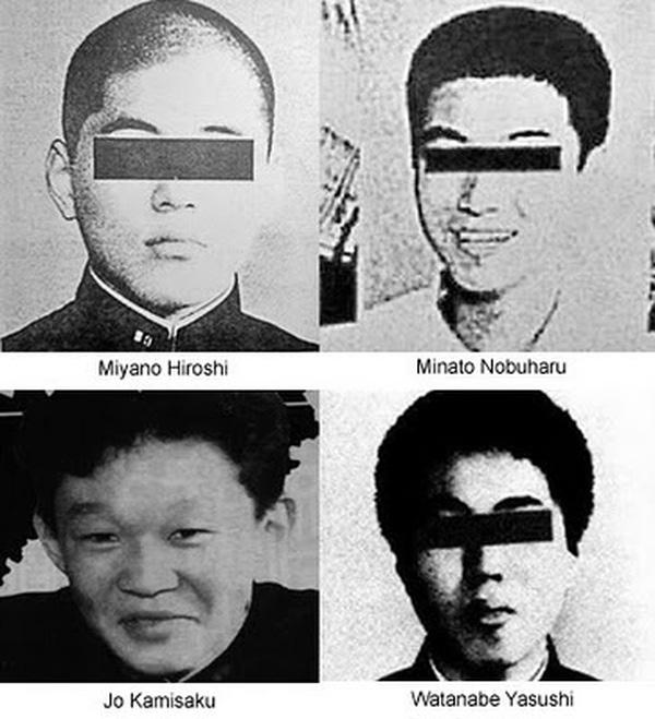 Chân dung và danh tính của 4 kẻ đã ra tay bắt cóc, tra tấn, hãm hiếp và giết chết nữ sinh 17 tuổi.