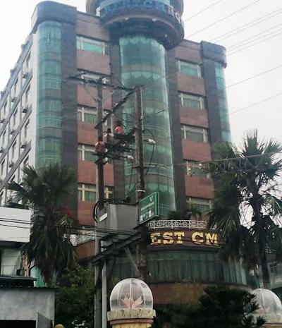 Khách sạn của đại gia Luận lớn nhất Cà Mau. Ảnh: P.H