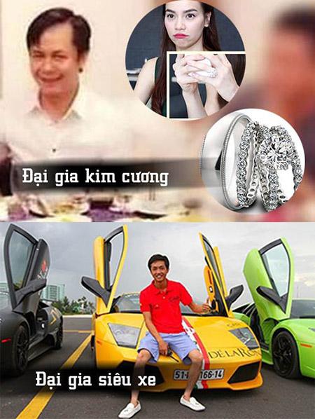 Mỗi người nổi danh ở một lĩnh vực riêng: Quốc Cường đại gia siêu xe còn Chu Đăng Khoa đại gia kim cương