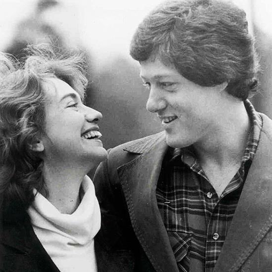 Nhà Clinton thời trẻ.