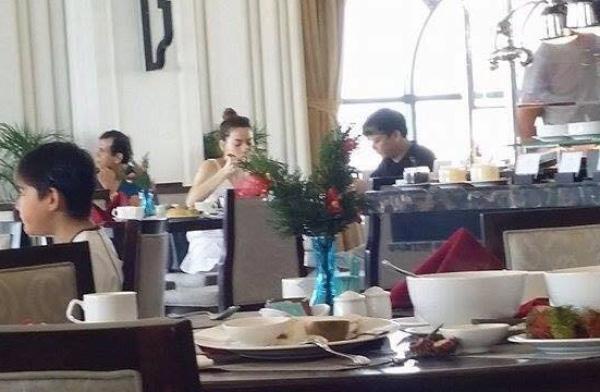 Gia đình Hồ Ngọc Hà cùng bạn trai đại gia của cô vừa đi nghỉ ở Phú Quốc