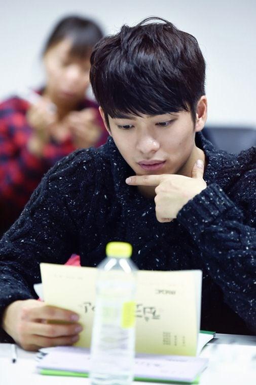 Kang Tae Oh trong buổi đọc kịch bản Best Lovers