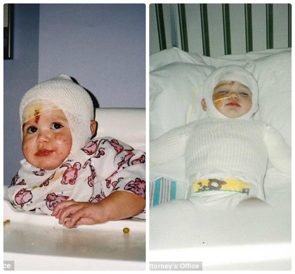 Ashley đã phải chịu tổn thương quá nặng nề khi còn quá nhỏ.