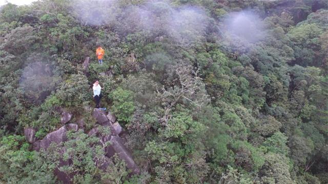 Hình ảnh khu vực nơi Aiden mất tích: Fb nhóm cứu hộ tình nguyện.