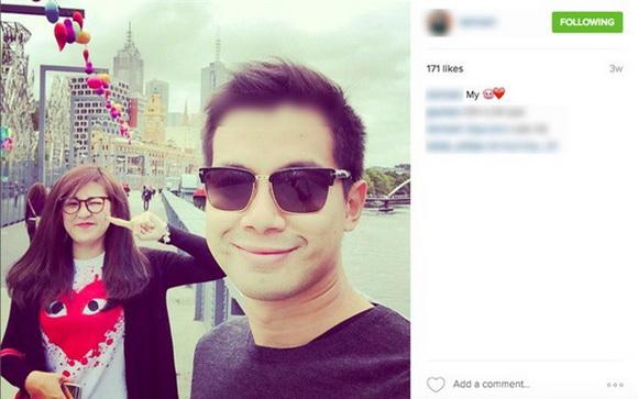 Hình ảnh Dương Tú Anh và bạn trai cũ tên Nam. Người đẹp thường xuyên đăng tải hình ảnh hạnh phúc của hai người trên trang cá nhân.
