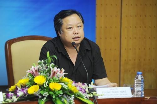 Nhạc sĩ Lương Minh là người có công lớn trong việc thành lập Hoa Sữa - ban nhạc nhẹ đình đám cuối thập niên 90. Ảnh: VTV