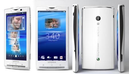 Xperia X10, sản phẩm đầu tiên sử dụng nền tảng Android của Sony