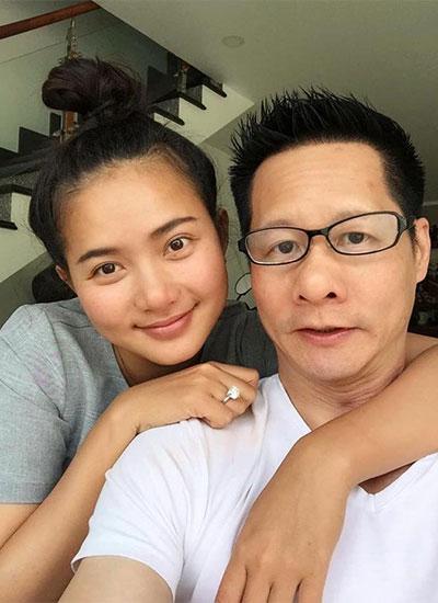 Phan Như Thảo và chồng đại gia - Đức An.