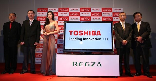 Năm 2010, Toshiba cũng chọn gương mặt đại sứ mới là Tăng Thanh Hà thay thế cho Hồ Ngọc Hà. Ảnh:Tinh tế.