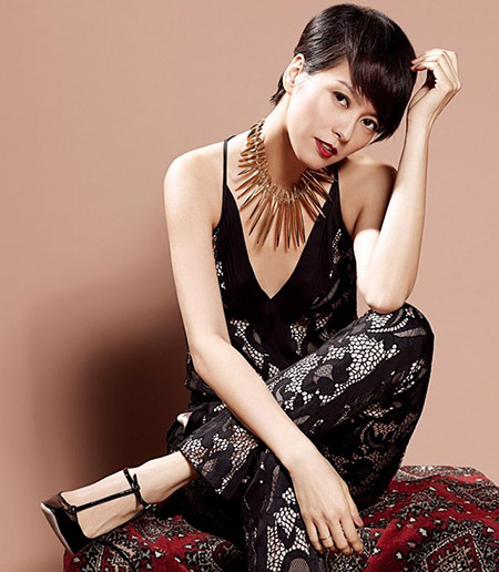 Tuy nhiên, mối tình giữa cô và Trịnh Y Kiện cũng chẳng kéo dài được bao lâu.
