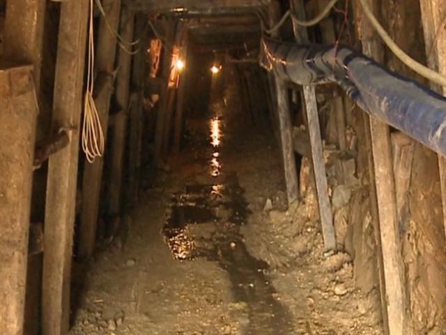Một điểm hầm khai thác vàng tại Mà Sa Phìn, xã Nậm Xây, huyện Văn Bàn, Lào Cai. Ảnh: T.L