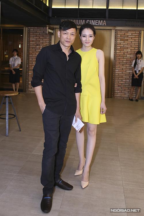 Vợ chồng Ngô Quang Hải và Diệp Hồng Đào.