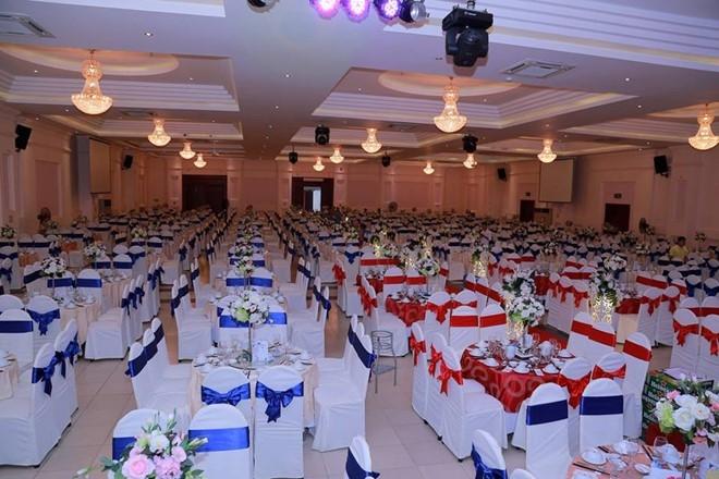 Hơn 1.000 khách được mời tới dự đám cưới này. Ảnh: Minh Diệu.