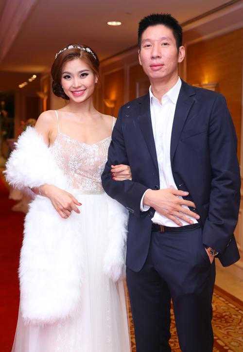 Ông xã luôn động viên, ủng hộ Diễm Trang trong mọi hoạt động.