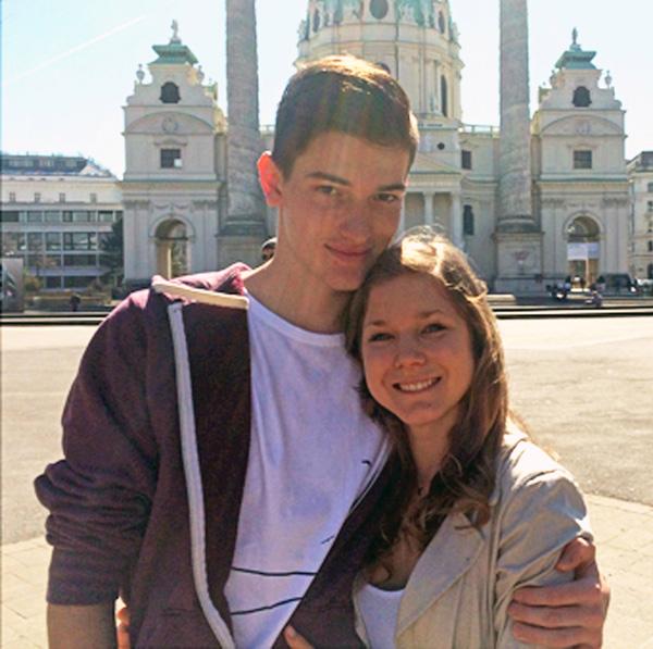 Chiara và bạn trai kém 2 tuổi Jason. Ảnh: Caters