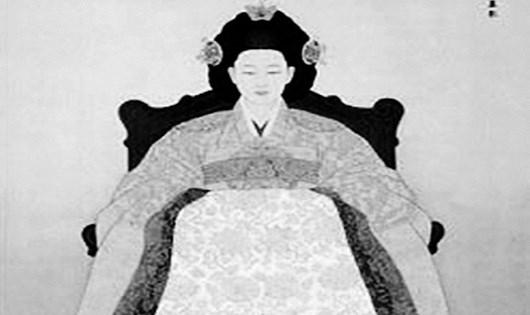 Tranh chân dung Quyền Phi vẽ thời Minh