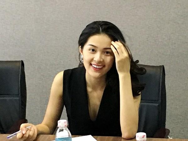 Người yêu của doanh nhân Nguyễn Quốc Cường. Ảnh: Dương Cầm