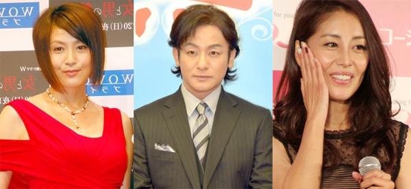 Mối quan hệ tay ba của Hoa hậu gây xôn xao trong làng giải trí Nhật.