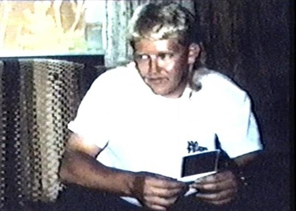 Hình ảnh của nghi phạm Helgoth vào năm 1996.