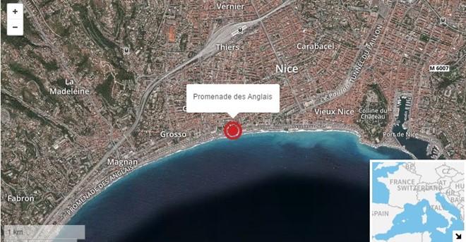 Địa điểm xảy ra vụ tấn công Ảnh: CNN