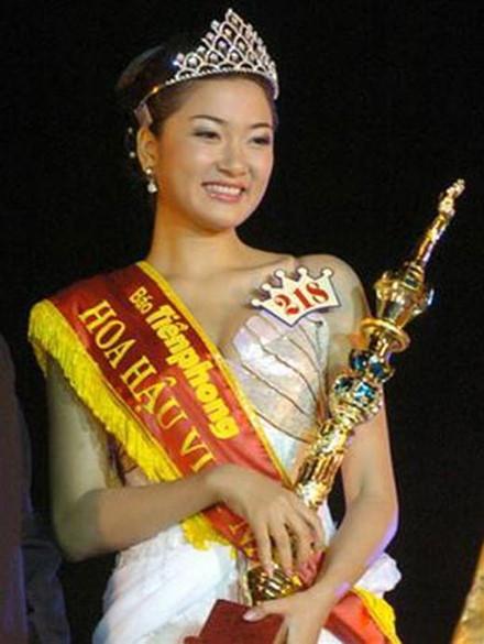 Cuộc thi đã phát hiện ra những người đẹp như Nguyễn Thị Huyền.