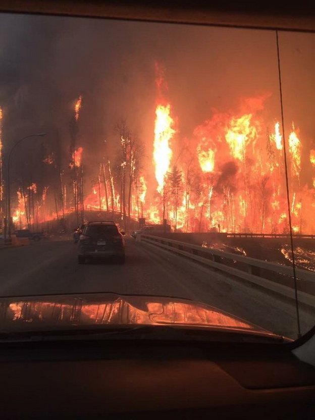Đến chiều 4-5, đám cháy đã bao phủ diện tích 7.500-10.000 héc ta - Ảnh: Twitter