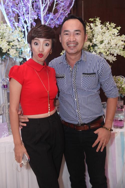 Thu Trang và Tiến Luật yêu nhau 7 năm mới đám cưới. Ảnh: BTCCC