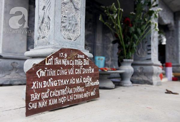 Mấy câu thơ ông Thiệp sáng tác lúc 2 người sinh ly tử biệt...