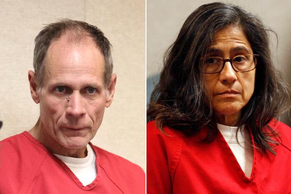 Phillip Garrido và vợ Nancy phải nhận mức án lần lượt là 431 năm và 36 năm tù giam vì những gì chúng đã làm với Jaycee. Ảnh: AP/EPA