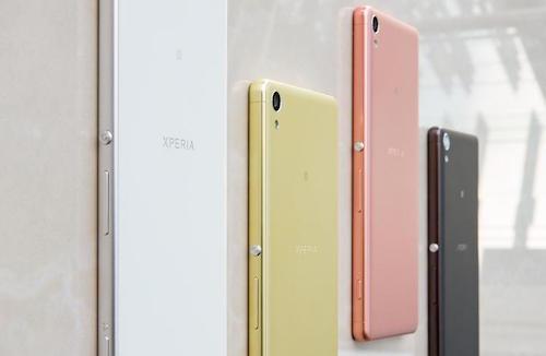 Những màu sắc trên mẫu Xperia X.