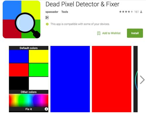 Đây là một ứng dụng rất hoàn hảo nếu bạn muốn kiểm tra smartphone của mình có bị điểm chết trên màn hình hay không