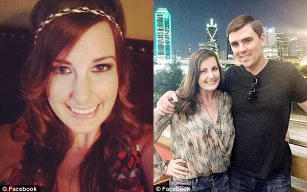 Cô Crouch may mán sống sót sau hai vụ xả súng diễn ra chỉ trong 1 tuần.