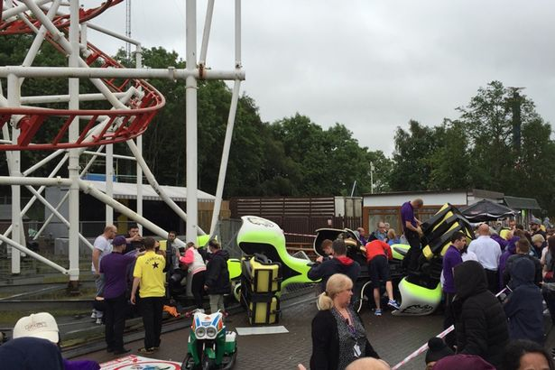 Có khoảng 10 người tham gia trò chơi trong lúc vụ tai nạn xảy ra.