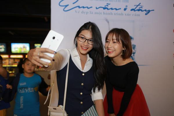 Kim Nhã và con gái diễn viên Kiều Trinh - Thanh Tú.