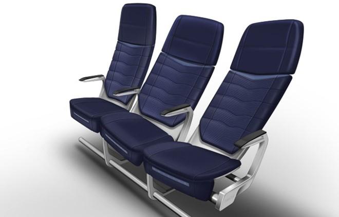Ghế có thể tự điều chỉnh theo form người từng hành khách.