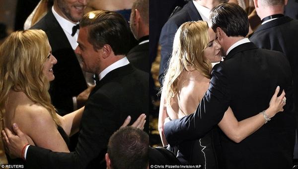 Cô cũng là người đầu tiên chúc mừng Leonardo DiCaprio khi anh nhận được giải thưởng danh giá này.