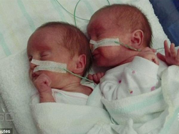 Rosie Luik đã hạ sinh 2 em bé cho người bạn thân của mình.